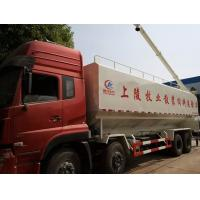Wholesale dongfeng tianlong  8x4 LHD 40cbm bulk feed delivery truck for sale, 20tons-25tons farm-oriented feed truck for sale from china suppliers