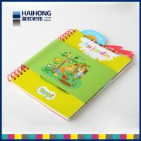 Wholesale Eco - friendly coil bound book printing / spiral notebook printing spot UV , Embossed & depossed from china suppliers