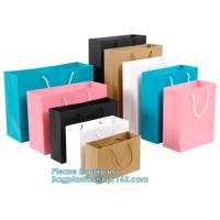 China Eco Friendly Candy Packaging Recycle Printed Small Craft Paper Bag Retail Baker on sale