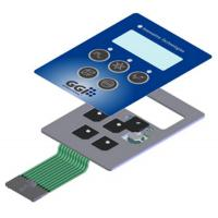 Wholesale Metal Dome Membrane Push Button Switch Touch Screen Backlit Membrane Switch from china suppliers