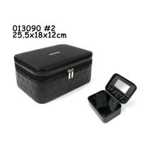 Wholesale Cosmetic Packaging Leather Makeup Box Beauty Case Bag SGS Certification from china suppliers