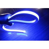 Buy cheap top quality square blue  neon flexible light 110v 120leds/m for outdoor building from wholesalers