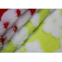 Wholesale 100% Polyester Sherpa Fleece Fabric Flower Pattern Design Print Berber Fleece Fabric from china suppliers