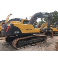 Wholesale Year 2016 Used Volvo Excavator 21 Ton , Second Hand Crawler EC210BLC Track Excavator Equipment from china suppliers