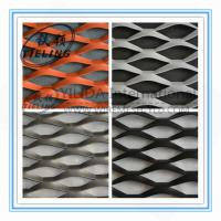 standard stretch metal mesh for wall panels