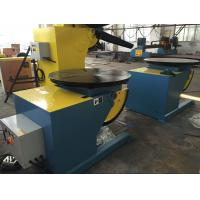 Quality Motorized Rotating / Tilting Rotary Welding Turning Table For 2 Ton Rated Load Cap for sale
