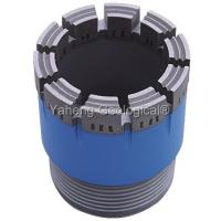 Wholesale NWG Double Tube Diamond Core Drill Bit For Wet / Dry Drilling High Drill Speed from china suppliers