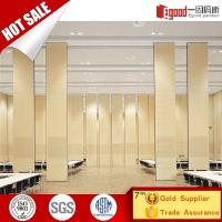 Buy cheap Customized Acoustic Movable Partition Wall Operable Partition Sliding Partition Folding Partition Soundproof Partition from wholesalers