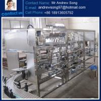 Buy cheap 5-10 liter washing-filling-capping machine from wholesalers