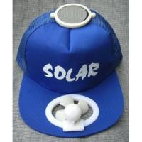 Wholesale 2013 promotion solar fan hat traveling cap from china suppliers