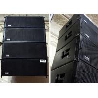 "Wholesale Passive DJ PA Portable Sound System 2x10"" Two-Way Line Array Loudspeaker Black from china suppliers"