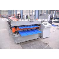 Quality PPGI / GI Roofing Sheet Roll Forming Machine for 0.3mm thickness steel for sale