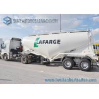 Wholesale Customized 28 m3 Dry Bulk Tank Trailer 2 Axle Q345 / AL5083 from china suppliers