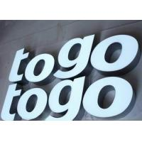Wholesale Custom Backlit Waterproof LED Channel Letters Signs For Chain Stores LOGO from china suppliers