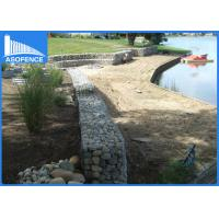 Quality Galvanized Welded Gabion Baskets Stone For River Protection , OEM / ODM Available for sale