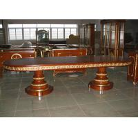 Wholesale Custom Luxury Dining Room Furniture Sets 180cm Wood Rectangular Dining Table from china suppliers