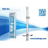 Wholesale Square hand held shower slide bar Chrome Plated / Polished Bathroom shower Accesories from china suppliers