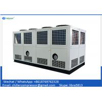 Wholesale 100 tons Air Cooled Screw Chiller with 2 Unit Compressors from china suppliers