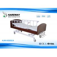 Wholesale Nursing Home Pink Homecare Hospital Beds Smooth Operation With Pinch - Free Design from china suppliers