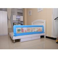 Wholesale Blue Lovely Cartoon child safety railing mesh / Mesh Bed Rail For Toddler Beds And Convertible Cribs from china suppliers