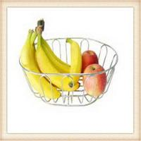 Buy cheap China stainless steel wire mesh fruit basket from wholesalers