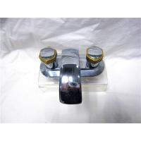 Quality Polished Stainless Steel Kitchen Sink Faucets With Two Brass Handle / Installation Hole for sale