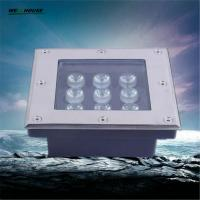 Wholesale LED Underground Lights Square Shape 9W LED Buried Lamp DC12/DC24V/AC85-265V LED Garden Lighting IP65 Recessed LED Floor from china suppliers
