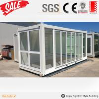 Buy cheap glass container house/shop from wholesalers