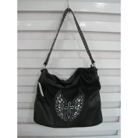 Wholesale sewing cross shoulder bags with rhinestone strap from china suppliers