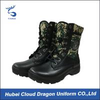 Wholesale Camouflage Tactical Winter Boots Security Uniform Accessories Slip Resistant Outsole from china suppliers
