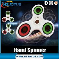 Wholesale Newest 2017Hot sell plastic material Finger Toy Focus Toys hand fidget spinner toy from china suppliers