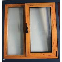 Wholesale Thermal break material brand new white aluminum tilt & turn window with fly screen from china suppliers