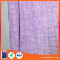 Wholesale Easy clean pink with white 2X2 weave soft Textilene fabric China manufactory from china suppliers