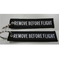 Wholesale Remove Before Flight Embroidered luggage Tag 13x2.8cm from china suppliers