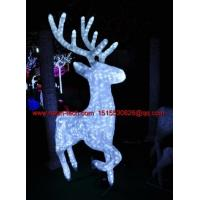Wholesale christmas decoration deer LED motif light LED 3d reindeer family series from china suppliers