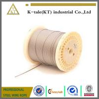 Wholesale 1x19 automobile control custom galvanized steel wire cable manufacturer from china suppliers