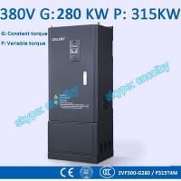 Wholesale 280kw/315kw Variable-Frequency Drive G/P VFD Vector Control Transducer AC drive AC-DC-AC inverter 50Hz/60Hz frequency from china suppliers