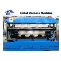 Buy cheap YX90-262-829 Floor Deck Roll Forming Machine For 0.8-1.6mm Thickness PPGI Sheet from wholesalers