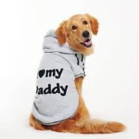 Wholesale S M L XL Large Breed Dog Golden Retriever Clothes Grey , Yellow Color from china suppliers