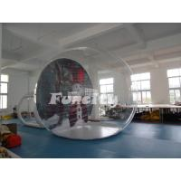 Wholesale Christmas Theme Snowman 3m PVC Clear Dome Inflatable Bubble Tent For Event from china suppliers