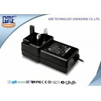 Wholesale Black Wall Mounted 12V Power Adapter 1.5M Cable 3 Prong Plug With CE Certificates from china suppliers