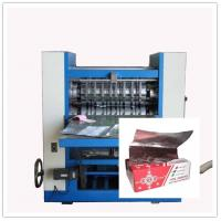 "Wholesale Pop Up Food Service Foil Paper Sheet Inter Folding Machine , "" V "" form cross folding from china suppliers"