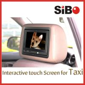 7 Inch Backseat Digital Taxi Advertising Screen