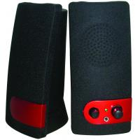 Wholesale Plastic 2.0 Small High Powered Computer Speakers 3.5 mm Jack Low Bass from china suppliers