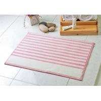 Wholesale Pink & white strong water absorption 100% Acrylic Bath Mat of tufting process from china suppliers