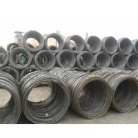 Wholesale EM12K Carbon Steel Welding Wire , 6.5mm Hot Rolled Welding Consumables from china suppliers