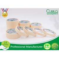 Wholesale 140 Mic Normal Color Crepe Automotive Masking Tape Adhesive 48mm*50m from china suppliers