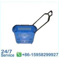 Wholesale PP material blue durable flexible plastic basket rubbish bins for kitchen - BN6069 from china suppliers