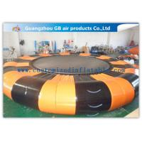 Wholesale 0.9mm Pvc Tarpaulin Inflatable Water Game Platform 6.5m Diameter For Air Water Toy from china suppliers