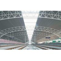 Wholesale Prefabricated Modern Industrial Steel Buildings , Wide Span Railway Station Tube Truss from china suppliers